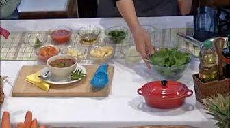 SALADA DE RÚCULA COM PERA, gorgonzola e nozes - Receita de salada de rúcula (Episódio #12) - YouTube