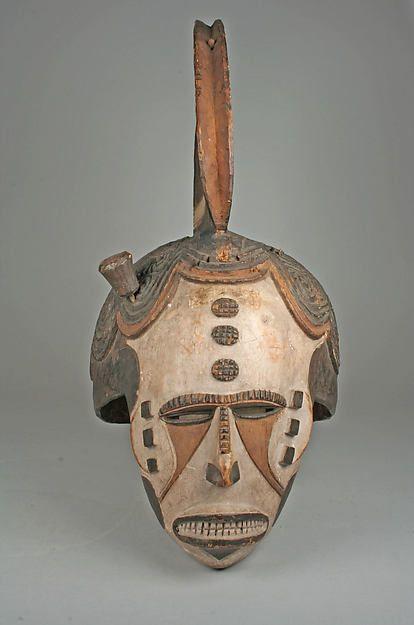 Igbo Agbogho Mmwo Helmet Mask, Nigeria http://www.imodara.com/item/nigeria-igbo-agbogho-mmwo-maiden-spirit-helmet-masks/