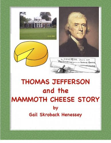 Learn about the interesting gift that Thomas Jefferson received on New Year's Day, in 1802. The whopper of a cheese tipped the scale at about 1235 pounds. The reading also includes a Did You Know? section with lots of informative factoids about Thomas Jefferson, comprehension questions and seven extension activities. For President's Day,study on author of Declaration of Independence,reading in content area.
