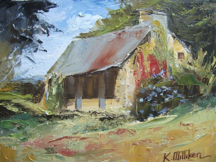 Cottage at Grand-Puy by KareNZGallery on Etsy