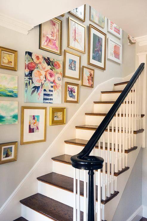 Gallery wall designed by Mandarina Studio