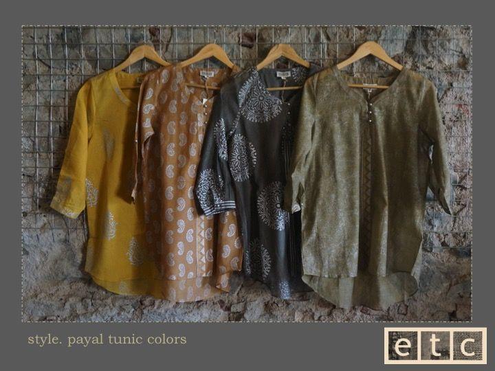 Natural Dyes | Payal tunic colors