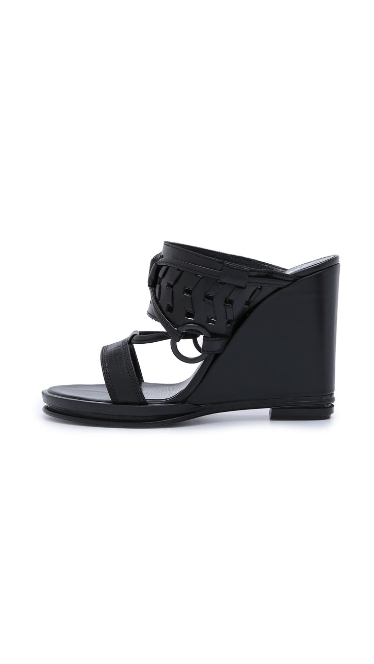 Mae Ankle Strap Wedges