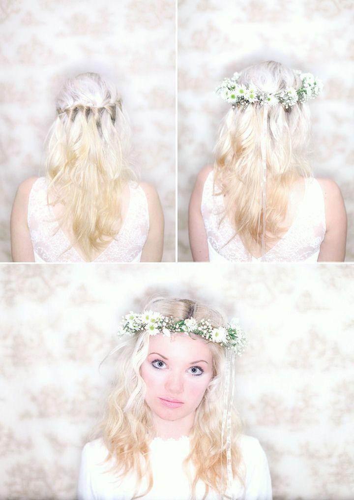 meadow flower crown