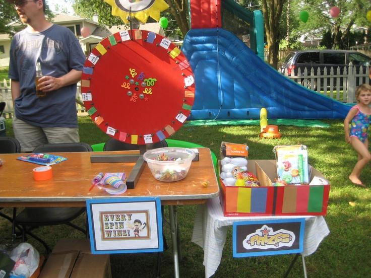 Gracie S Backyard Carnival Birthday Carnival Birthday