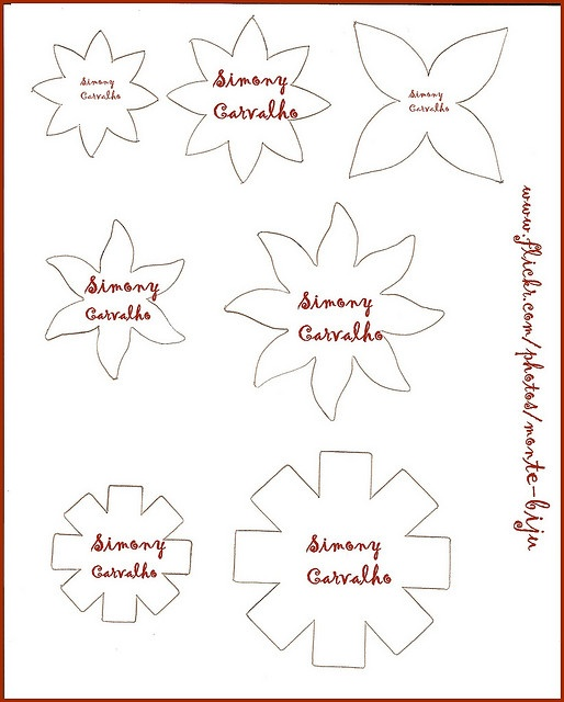 17 best images about diy flower templates on pinterest