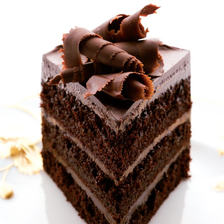 Fudgy Chocolate Layer Cake | Food & Wine