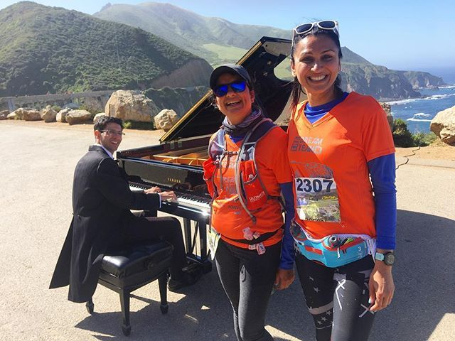 Yes, that's a grand piano on #highway one. 🤣🤣🤣#bigsur #international #marathon was one of the most #beautiful and difficult race courses I've run. #calocals - posted by Rooism. Fashion. Fabulous https://www.instagram.com/rooism.s - See more of Big Sur, CA at http://bigsurlocals.com