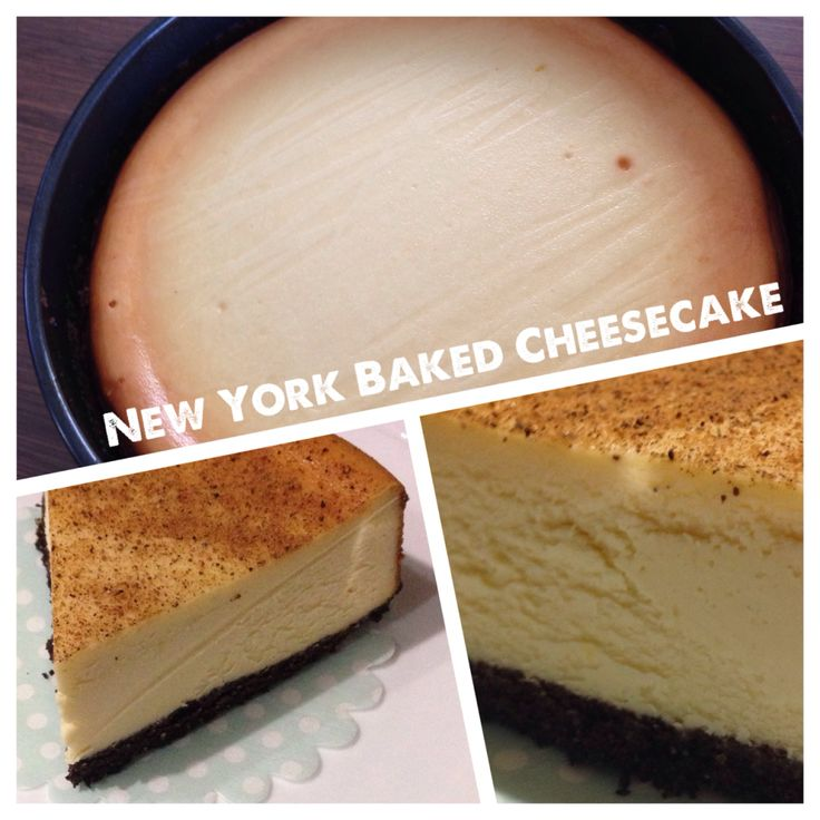 Delicious! New York Baked Cheesecake by the4Blades!