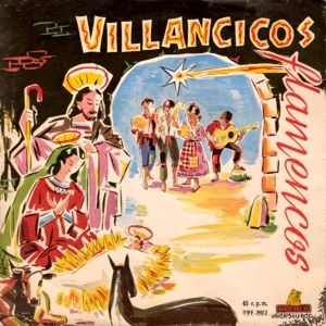 Manolo Escobar - Villancicos flamencos - album cover