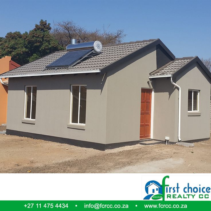 Another successful development by First Choice Realty in Pretoria North, Wolmer! Visit our Website: besociable.link/4g #PretoriaNorth #affordablehousing #property