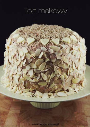 Wykwintny tort makowy