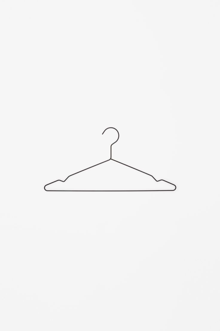 COS × HAY | Metal coat hangers