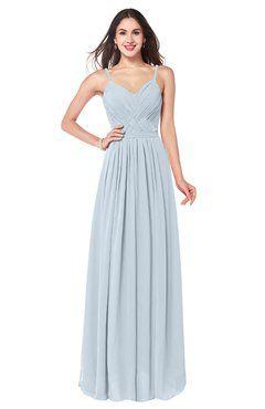 303d6d8b3968 ColsBM Kinley Illusion Blue Bridesmaid Dresses Sleeveless Sexy Half  Backless Pleated A-line Floor Length