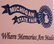 Michigan state fair 2013 festival where memories are made.  THe mitten state