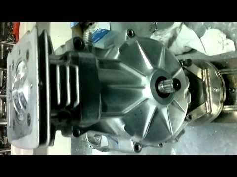 GM Speedway Engine tuning-500cm3, 11000rpm about 80hp piston work silnik żużowy - YouTube