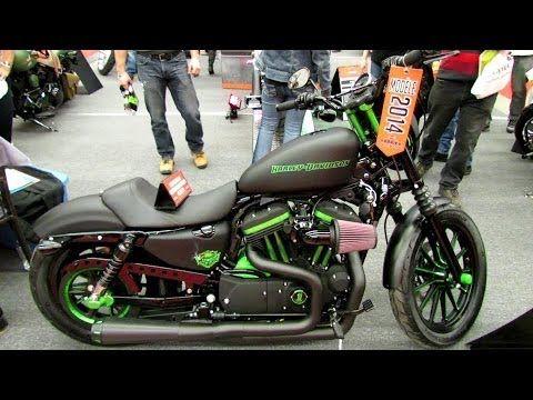 2014 Harley-Davidson Sportster Iron 883 Custom - Walkaround - 2013 Montreal Motorcycle Show