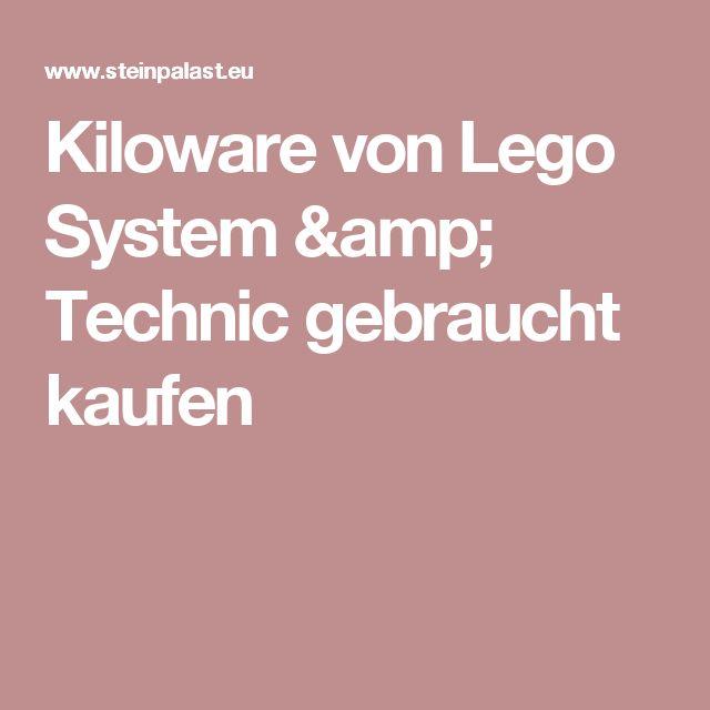 Kiloware von Lego System & Technic gebraucht kaufen
