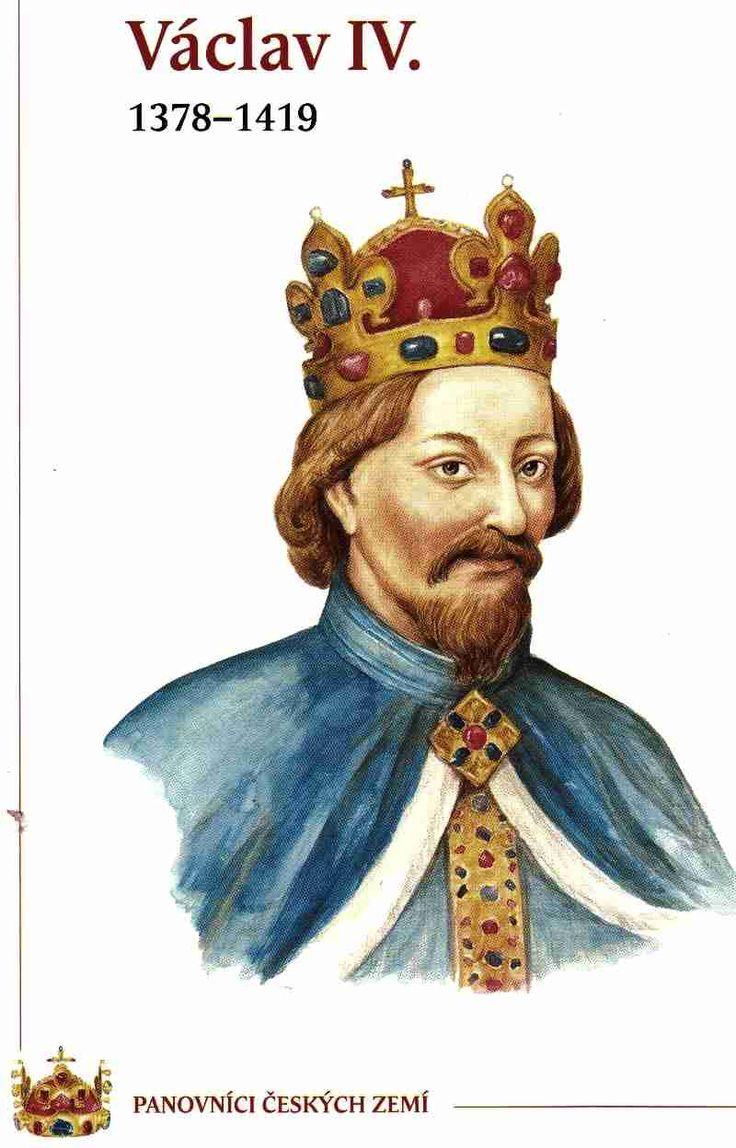 Václav IV. - syn Karla IV. a třetí ženy   Anny Svídnické