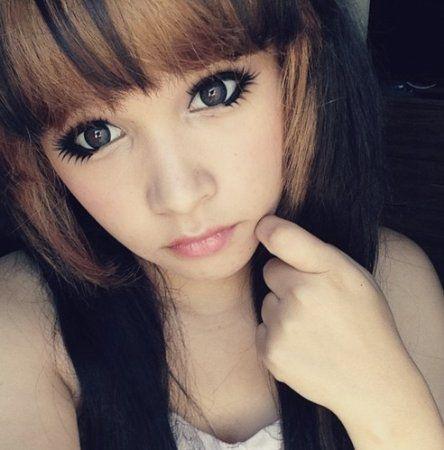 Lolita makeup <3