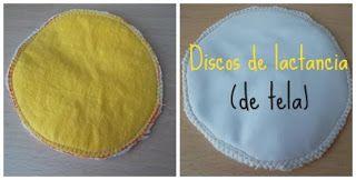 DISCOS DE LACTANCIA (DE TELA)