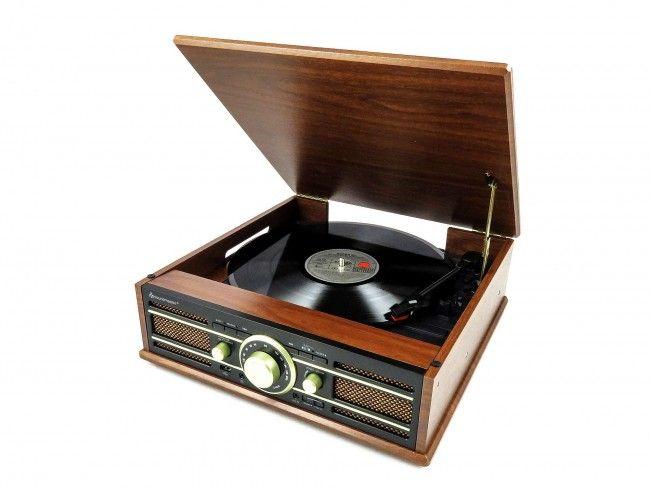 Soundmaster PL550BR - Platenspelers - 123platenspeler.nl
