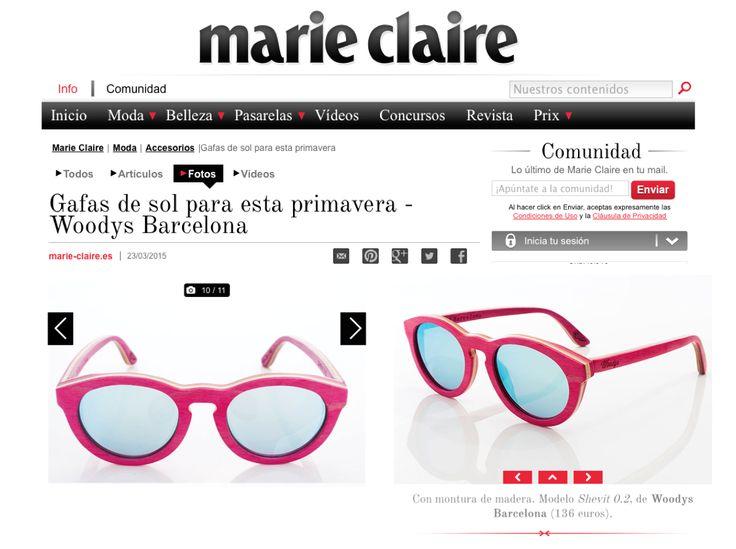 Woodys Barcelona en Marie Claire www.aderezocomunicacion.com