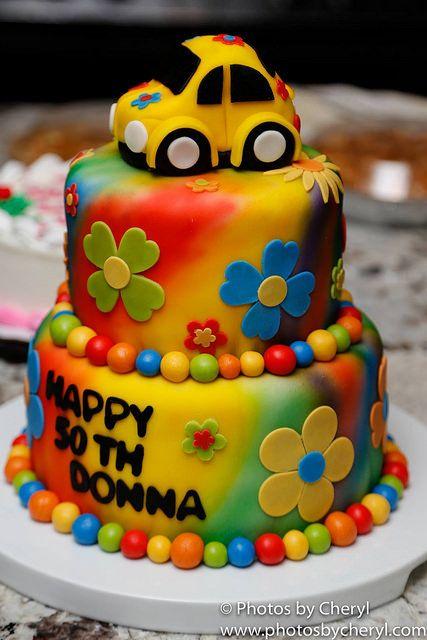 themed  birthday cake vanilla rainbow cake covered  detailed  marshmallow