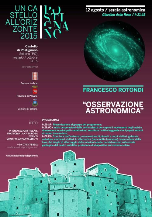 Osservazione astronomica in Valnerina, con Francesco Rotondi