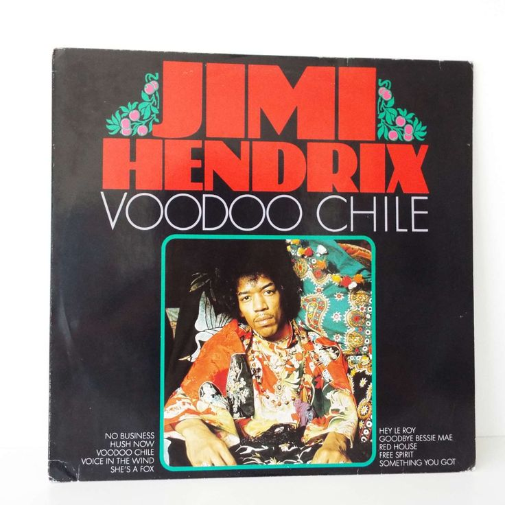 Rare Vintage 1988 Jimi Hendrix Voodoo Chile Vinyl Record LP Dutch Pressing Rock by VintageBlackCatz on Etsy