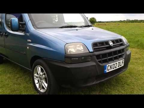 Fiat Doblo Camper van Conversion by Creation Campers - YouTube