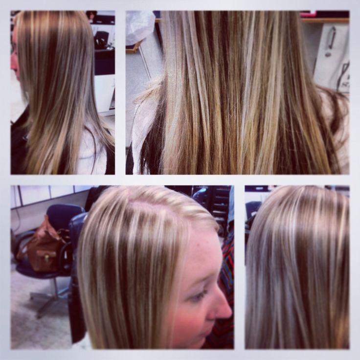 Foils and refreshed colour Instagram @meggyjeans_ #hairbymeggyjeans  #hilites #colour #blond #new #hair #brown