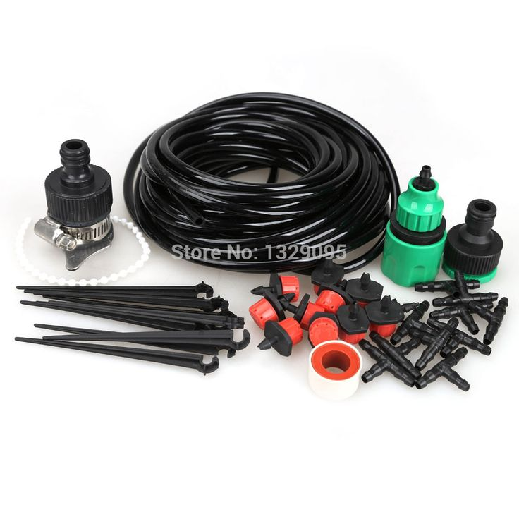 Free shipping high quality 10m DIY Micro Drip Irrigation System Plant Self Watering Garden Hose  FC          Free shipping high quality 10m DIY Micro Drip Irrigation System Plant Self Watering Garden Hose  FC        US $10.33  #shopaholic #dailydeals