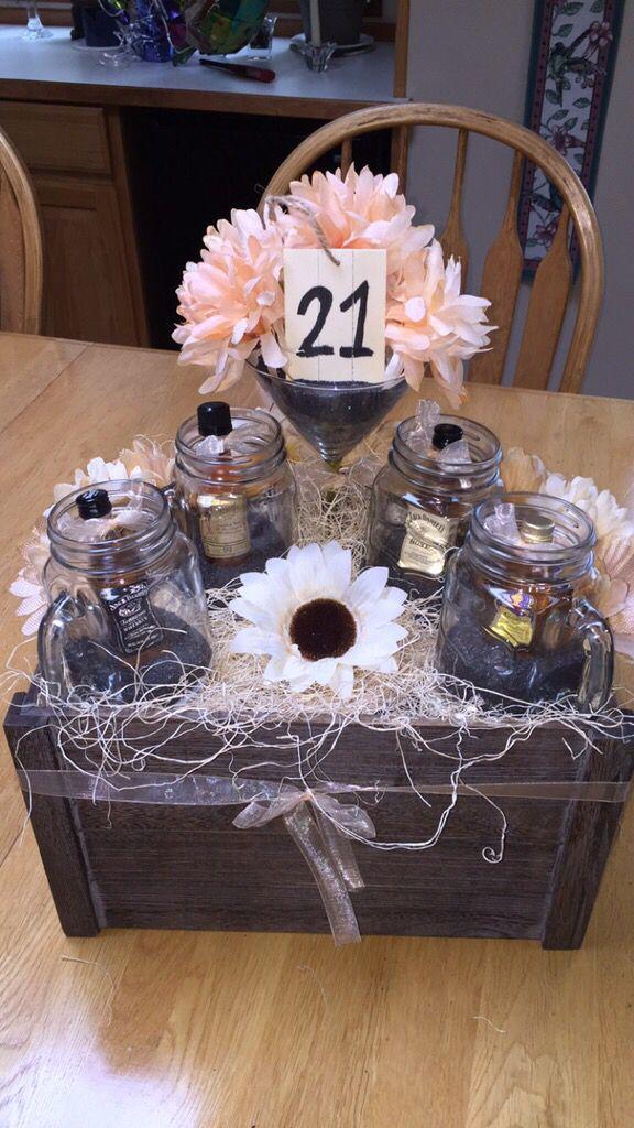 21st Birthday Gift Basket Ideas : Best ideas about birthday presents on