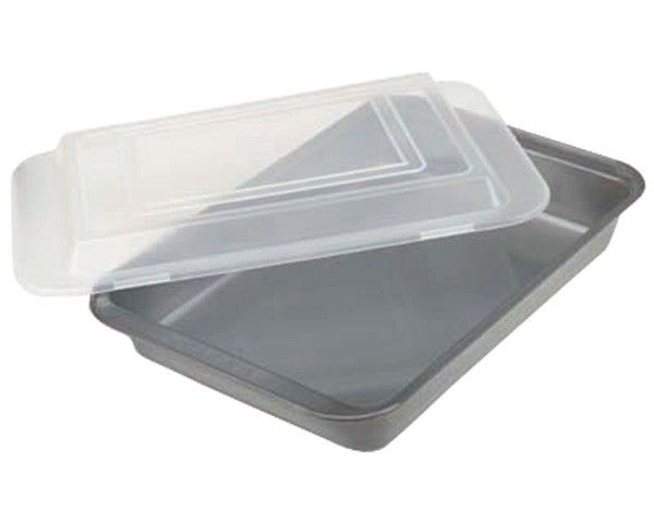 how to clean burnt non stick baking sheet
