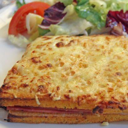 ALDI France - Recette - Croque-cake au jambon-fromage