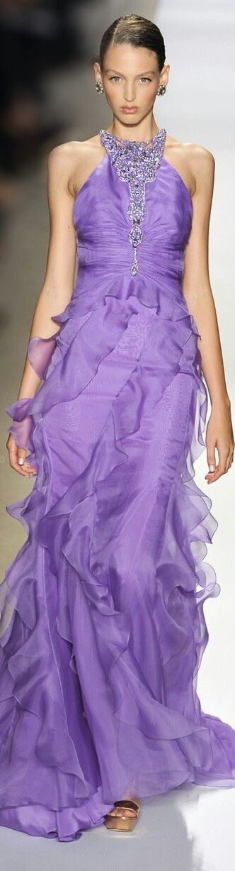 Beautiful lilac gown