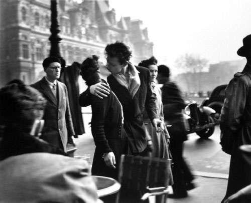 scrapbook.: Robert Doisneau. Photographer. Legend. France. 1912-1994.: Kiss, Robertdoisneau, The Kiss, They Would, Deville, Robert Doisneau, Photography