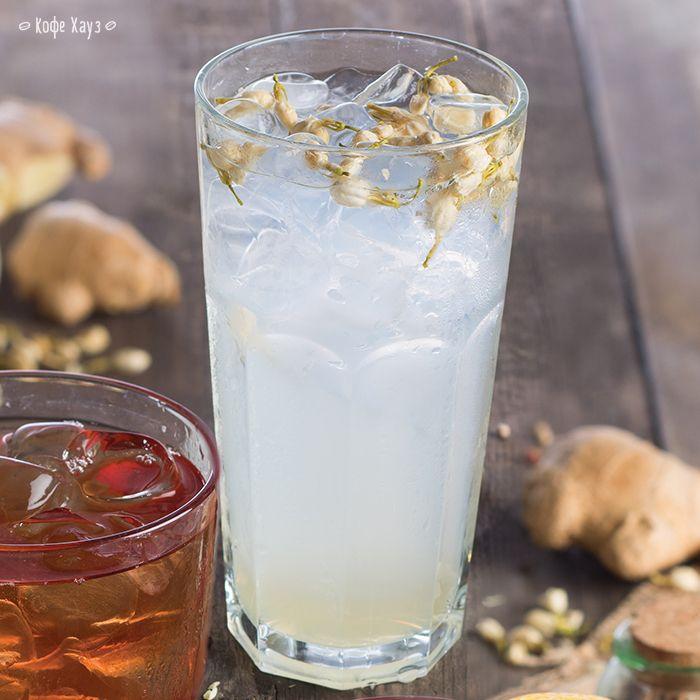 Провожаем лето прохладным и освежающим Чаем со льдом «Жасмин-абрикос». #кофехауз