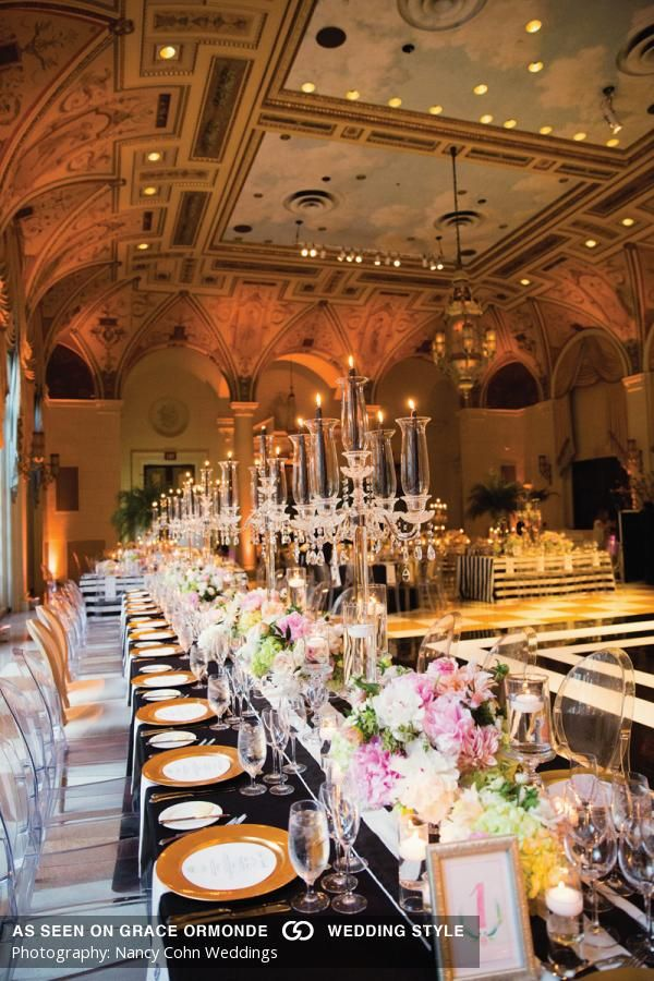 best wedding reception halls in nyc%0A A Black and White Themed Wedding At The Breakers in Palm Beach  Florida