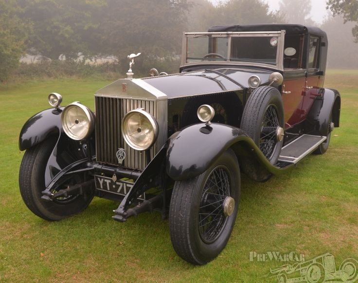1927 Rolls-Royce Phantom Phantom 1 Hooper Sedanca