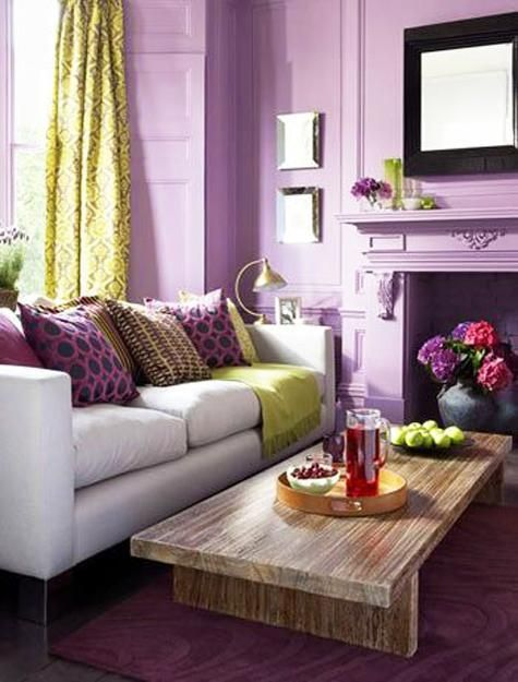 10 bright interior color schemes floral inspirations and on living room color inspiration id=29926