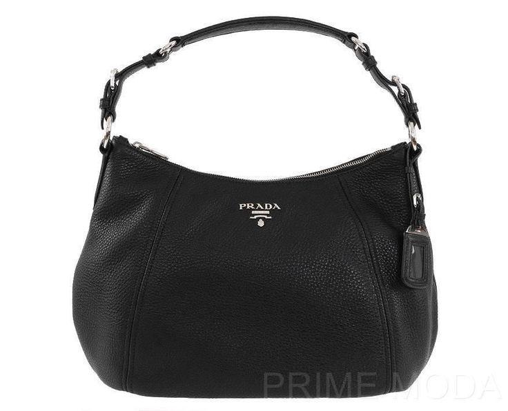 Prada Milano Black Shoulder Bag 68