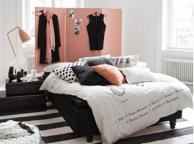 1000 id es sur le th me t te de lit rose sur pinterest - Paravent chambre fille ...