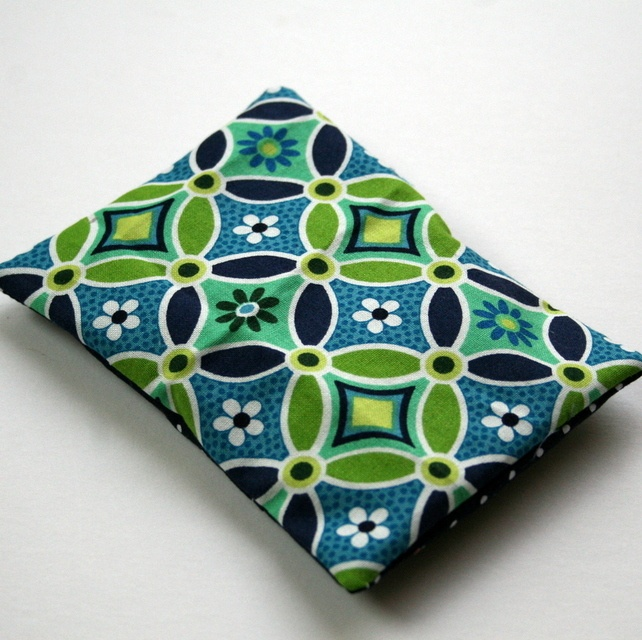 Rice filled reusable ice pack (pattern)