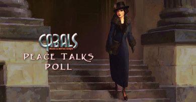 Peace Talks Poll - News | Cabals: Magic & Battle Cards