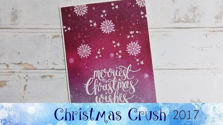 Watercolor Christmas Card featuring Stampin' Up!® Products