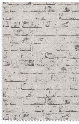 Best 25 papier peint brique blanche ideas only on - Brique decorative blanche ...