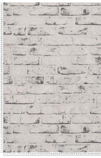 Les 25 meilleures id es concernant murs de briques blanches sur pinterest b - Imitation brique blanche ...
