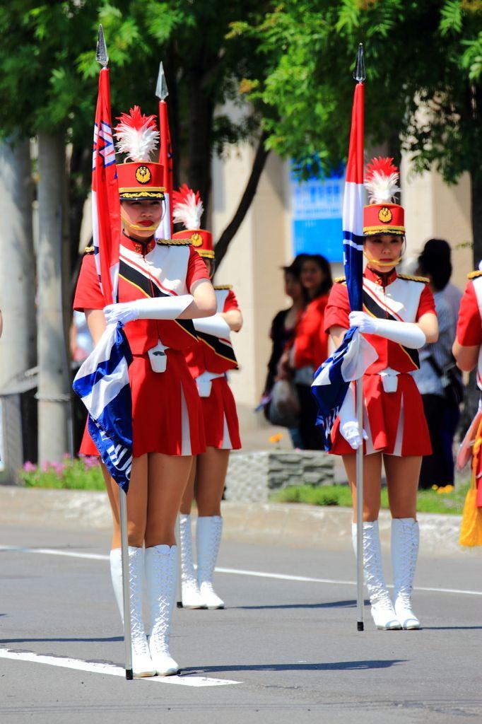 北海道警察カラーガード隊1